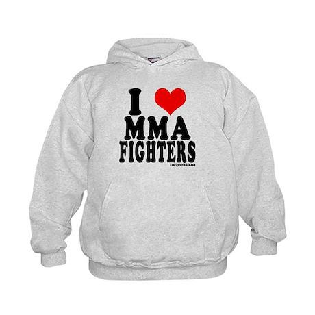 I LOVE MMA FIGHTERS Kids Hoodie