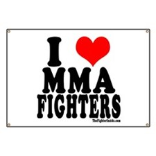 I LOVE MMA FIGHTERS Banner