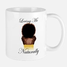 Loving Me Naturally Natural Afro Hug Mug