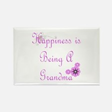 Happiness is being a Grandma Rectangle Magnet