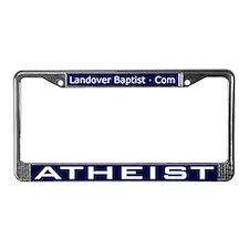 Unique Jesus liberal License Plate Frame
