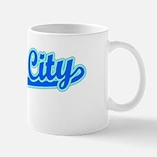 Retro Yuba City (Blue) Mug