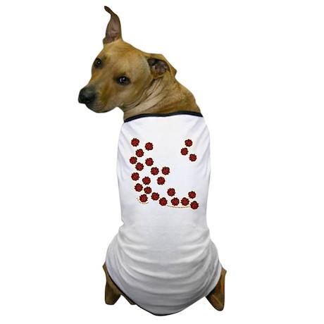 Lots of Little Ladybugs Dog T-Shirt
