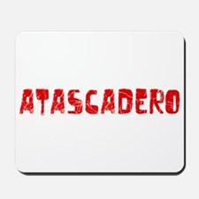Atascadero Faded (Red) Mousepad
