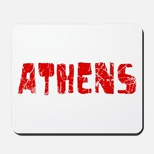 Athens Faded (Red) Mousepad