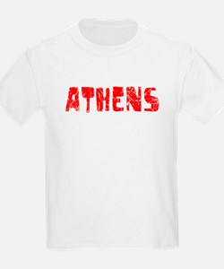 Athens Faded (Red) T-Shirt