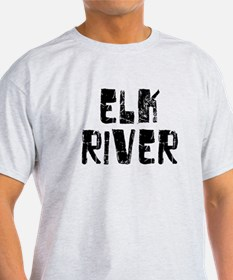Elk River Faded (Black) T-Shirt