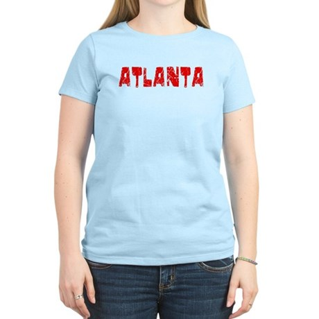 Atlanta Faded (Red) Women's Light T-Shirt