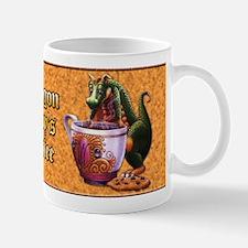 Don't mess with Dragons Mug