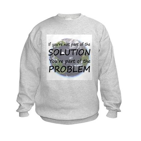 Part of the Solution Kids Sweatshirt