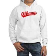 Retro Albany (Red) Hoodie