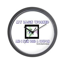 My Lasik Worked Wall Clock