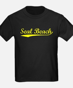 Vintage Seal Beach (Gold) T