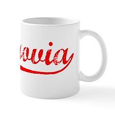 Vintage Monrovia (Red) Mug