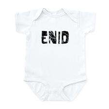 Enid Faded (Black) Infant Bodysuit