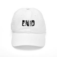 Enid Faded (Black) Baseball Cap