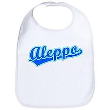 Retro Aleppo (Blue) Bib