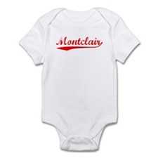Vintage Montclair (Red) Infant Bodysuit