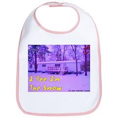 I Pee In The Snow Bib