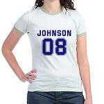 Johnson 08 Jr. Ringer T-Shirt