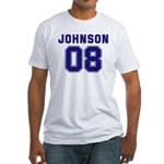 Johnson 08 Fitted T-Shirt