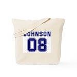 Johnson 08 Tote Bag