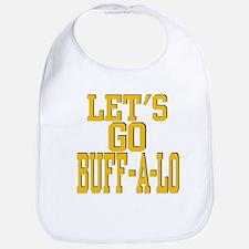 LETS GO BUFF-A-LO Bib