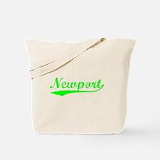 Vintage Newport (Green) Tote Bag