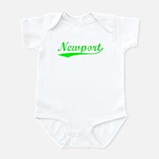 Vintage Newport (Green) Infant Bodysuit