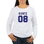 Kuntz 08 Women's Long Sleeve T-Shirt