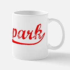 Vintage Moorpark (Red) Mug