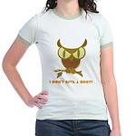 No Hoot Jr. Ringer T-Shirt