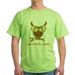 No Hoot Green T-Shirt
