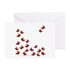 Teeny Tiny Tugboats Greeting Card