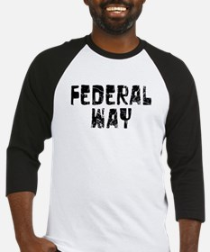 Federal Way Faded (Black) Baseball Jersey