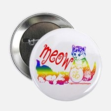 """Meow 2.25"""" Button (100 pack)"""