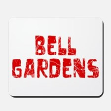 Bell Gardens Faded (Red) Mousepad