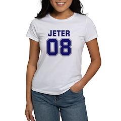 Jeter 08 Women's T-Shirt