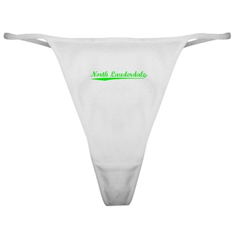 Vintage North Laud.. (Green) Classic Thong