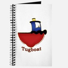 Cute Tugboat Picture Journal