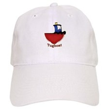 Cute Tugboat Picture Baseball Cap