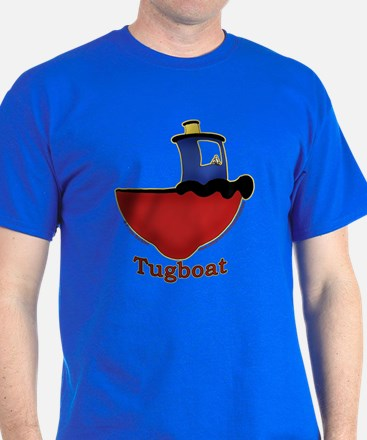 Cute Tugboat Picture T-Shirt