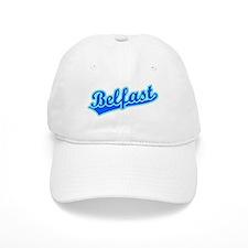 Retro Belfast (Blue) Baseball Cap