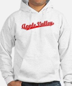 Retro Apple Valley (Red) Hoodie