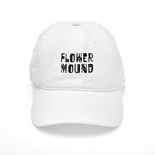 Flower Mound Faded (Black) Baseball Cap