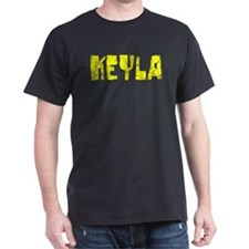 Keyla Faded (Gold) T-Shirt