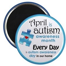 """April Every Day (B) 2.25"""" Magnet (100 pack)"""