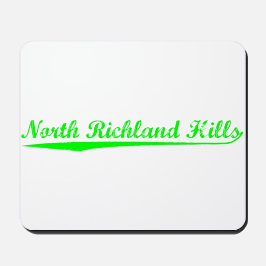 Vintage North Rich.. (Green) Mousepad
