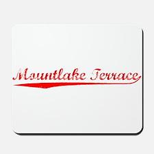 Vintage Mountlake .. (Red) Mousepad