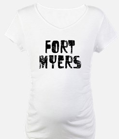 Fort Myers Faded (Black) Shirt
